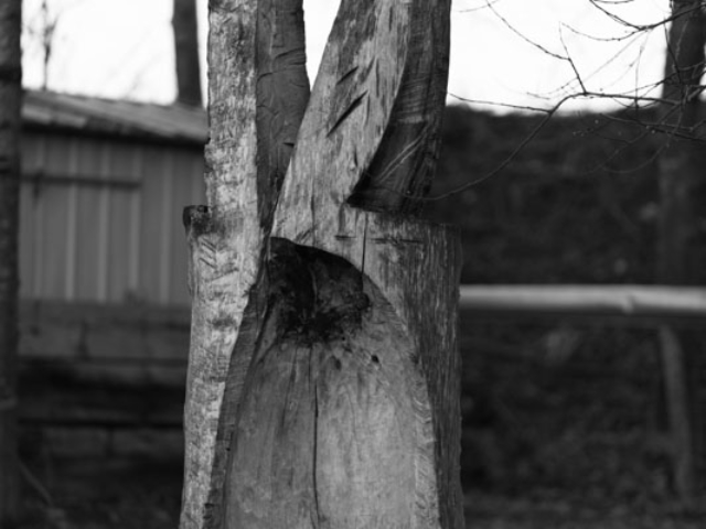 """Skulptur """"Keltisches"""""""