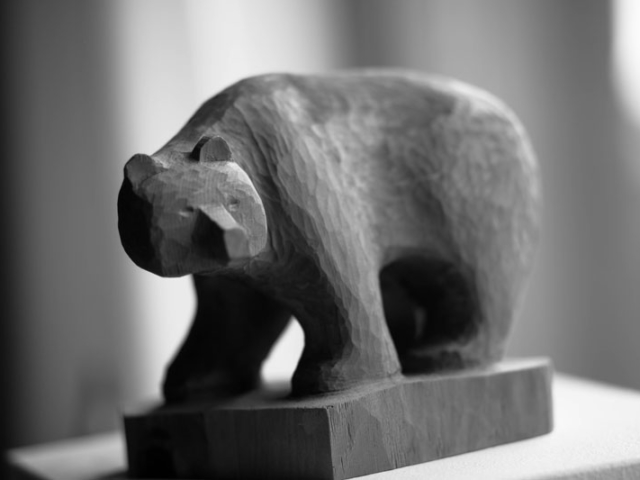 "Skulptur ""Bruno"""