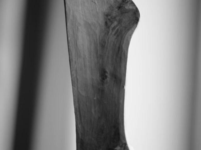 """Skulptur """"Apfel abstrakt"""""""